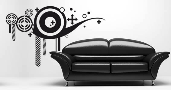 Modern Graphics wall decals