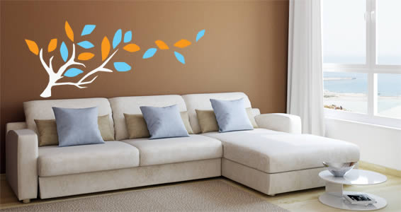 Branches wall stickers