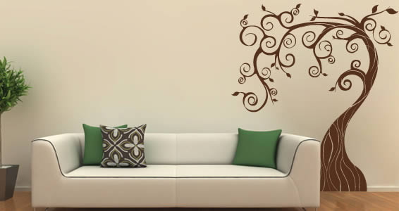 Delicieux Fairy Tree Wall Decals