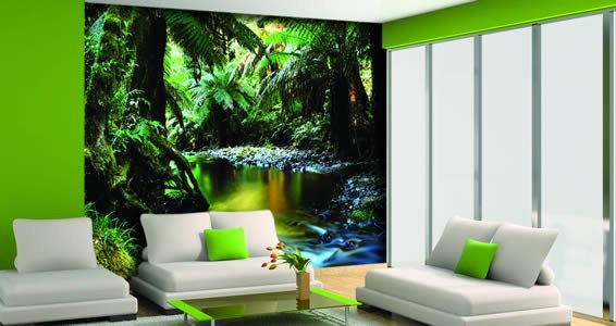 Wall Murals tropical jungle wall murals | dezign with a z