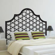 Tufted Headboard wall decals