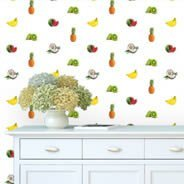 Tutti Tropical Fruits Step and Repeat wall mural