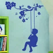 Tweety Boy Wall Decal