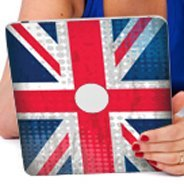 U.K. Flag iPad decals skin