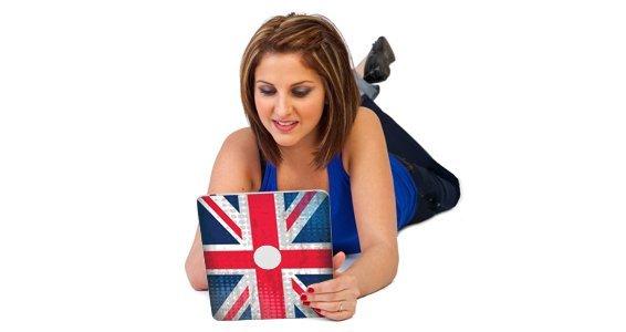 U.K. Flag iPad decals skin