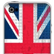 U.K. Flag  iPhone decals skins