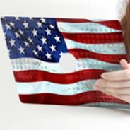 U.S. Flag iPad decals skin