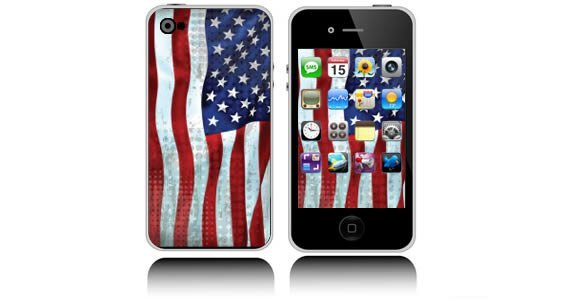 U.S. Flag iPhone decals skins