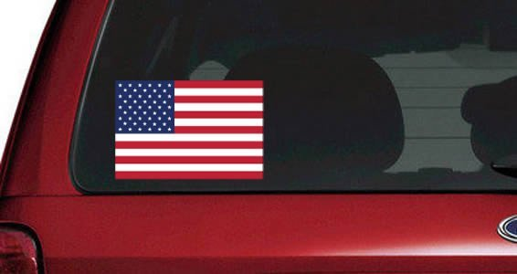 Flags of the World car decals