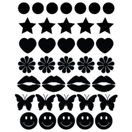 Mini Variety Decal Packs