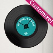 Custom Vinyl 45 Clock wall Stickers