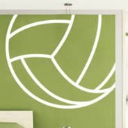 Volleyball Line wall decals