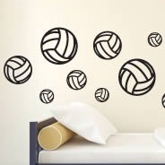 Spike! Volleyball pack decals