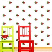 Watermelon Step and Repeat murals