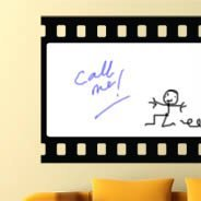 Make your Movie whiteboard decals