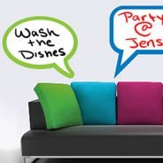 Whiteboards Bubble Thoughts Dry Erase Sticker
