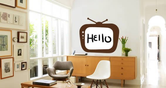 TV White Board decals