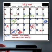 Dry Erase Calendar Wall Decals