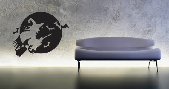 Witchy Witch wall stickers