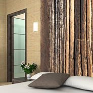 Wood wall paper
