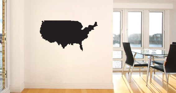 World Countries wall decals