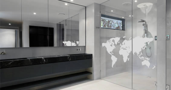World map frosted window decals dezign with a z gumiabroncs Gallery