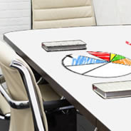 Whiteboard and Color Dry Erase Furniture Decals