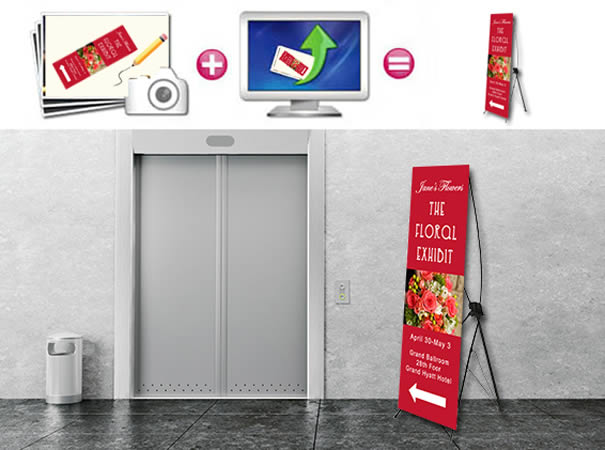 X portable Banner Stand