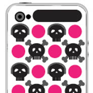Skull XOXO  iPhone decals skins