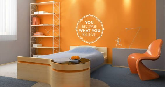You quote wall decal