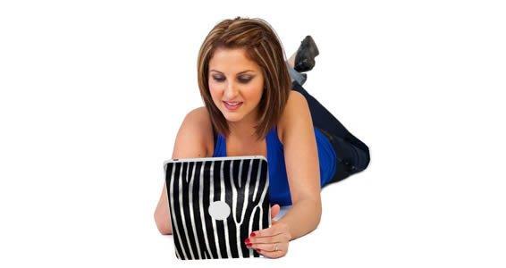 Zebra iPad tablet decals skin