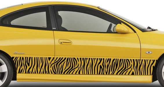 Cars With Decals