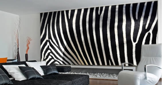 Zebra Wall Mural, Animal Wall Murals | Dezign With A Z Wall Decor