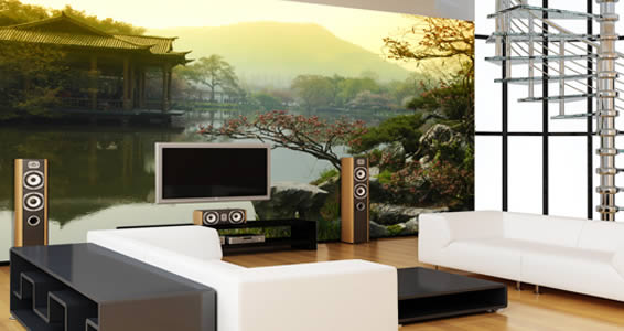 Superbe Japanese Garden Wall Murals