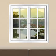 Japan Garden Faux Window Murals