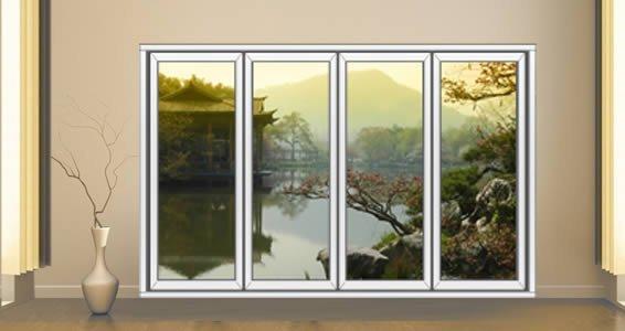Japan Garden Faux Window Murals   Dezign With a Z