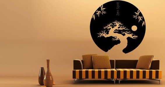 Zen Spirit by RQR vinyl wall tattoos