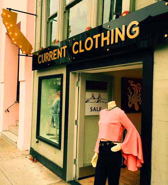 Current Clothing 3D signs