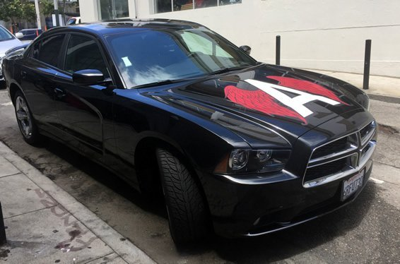 Custom Car Decal in San Francisco Bay Area