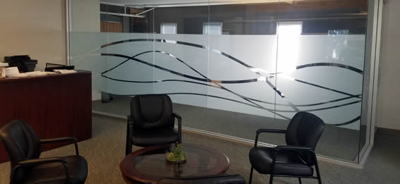 Frosted Window Film in San Francisco