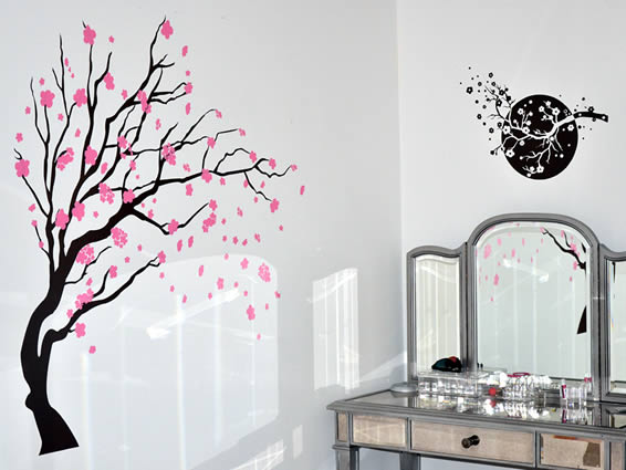 Spring Tree decals
