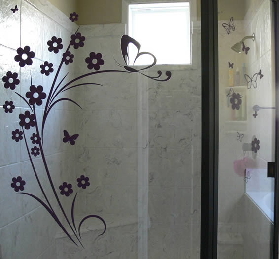 Classic 20 flower decals
