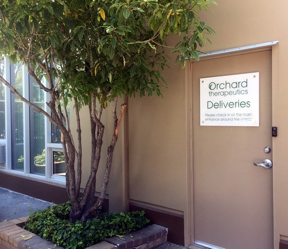 Custom logo door sign in Silicon Valley