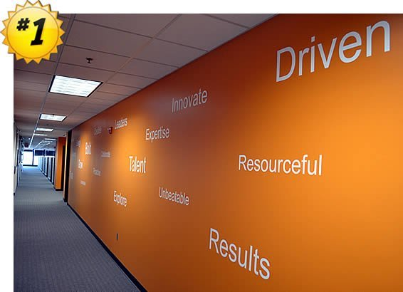 corporate wall quotes